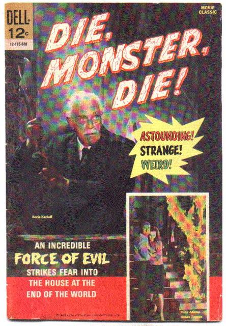 Die,Monster,Die movie comic vg 4.0