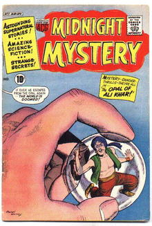 Midnight Mystery #2 comic book  fine 6.0