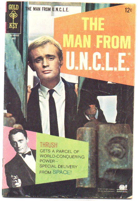 Man From UNCLE (U.N.C.L.E.) #18 comic book vg/fn 5.0