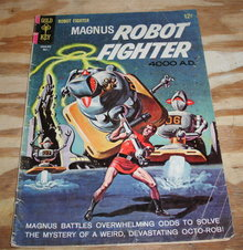 Magnus Robot Fighter #10 comic book vg 4.0