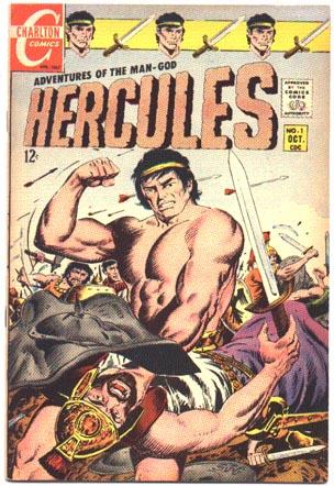 Hercules #1 comic book vf 8.0 (Charlton)