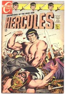 Hercules #1 comic book vf 8.0 (Charlton)