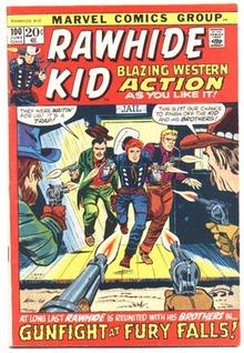 Rawhide Kid #100 comic book vf 8.0