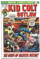 Kid Colt outlaw #163 comic book vf 8.0