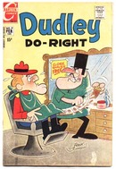 Dudley Do-Right #4 comic book vg 4.0
