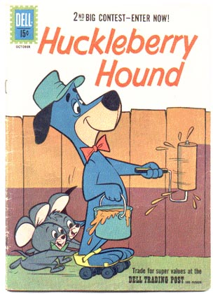 Huckleberry Hound #13 comic book vg+ 4.5