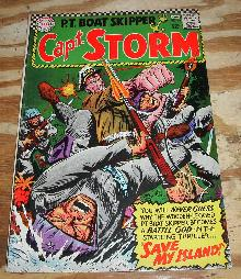 Captain Storm #18  comic book fine 6.0