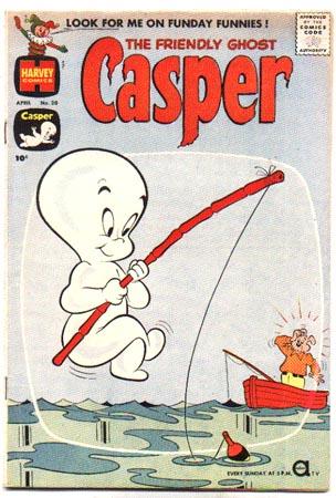 The Friendly Ghost Casper #20 comic fn 6.0