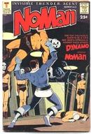 NoMan #2 comic fn 6.0
