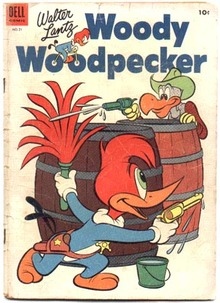 Woody Woodpecker #21 comic book vg 4.0