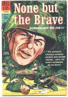 None But the Brave movie  comic book vg 4.0