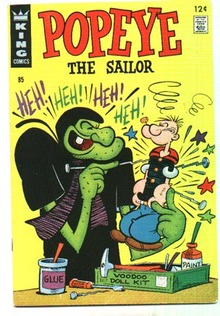 Popeye the Sailor #85 comic book vf 8.0