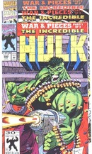 Incredible Hulk War & Pieces comic set nm 9.4