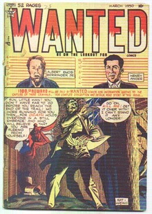 Wanted #25 comic book vg+ 4.5