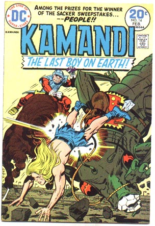 Kamandi #14 comic book vf 8.0