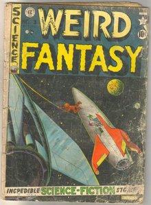 Weird Fantasy #3 comic book fa 1.5