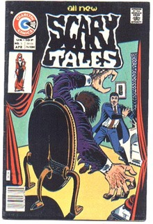 Scary Tales #5 comic book vf 8.0