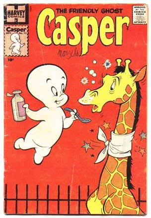 Friendly Ghost Casper #13  comic book vg 4.0