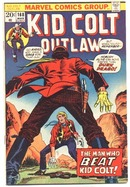 Kid Colt Outlaw #168 comic book vf 8.0