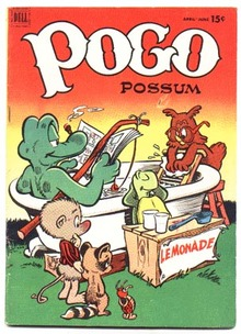 Pogo Possum #9 comic book fn/vf 7.0