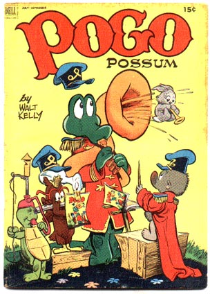 Pogo Possum #10 comic book vg+ 4.5