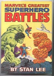 Marvel Fireside paperback on comic books
