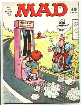 Mad Magazine #165 comic book fn 6.0