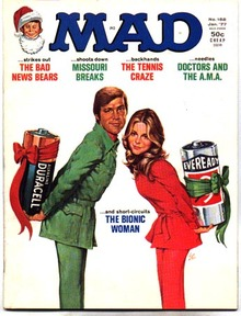 Mad #188 comic book magazine vf 8.0