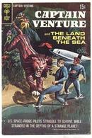 Captain Venture #1 comic book vg+ 4.5