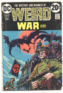 Weird War Tales #13 comic book vg 4.0