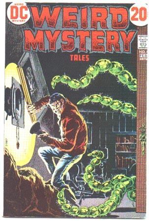 Weird Mystery Tales #4 comic book vf 8.0