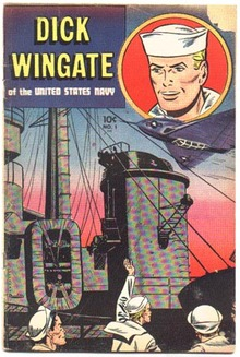 Dick Wingate of the United States Navy #1 vg 4.0