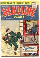 Headline Comics #76 comic book vg 4.0