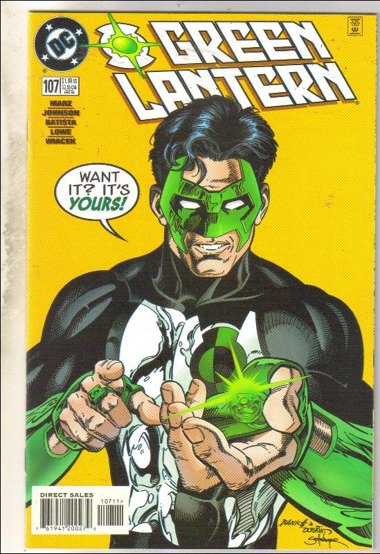 Green Lantern #107 comic book mint 9.8