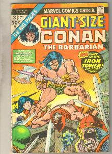 Giant-Size Conan #3 comic book good/very good 3.0
