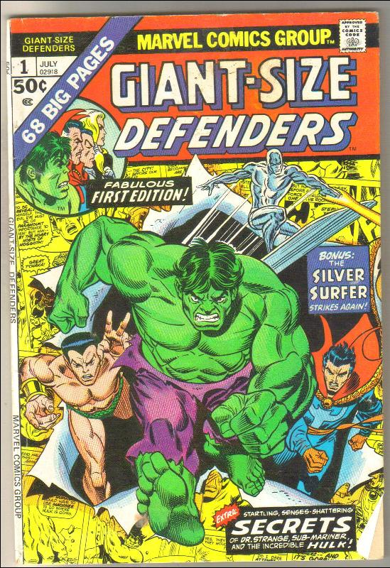 Giant-size Defenders #1 comic book very good plus 4.5