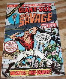 Giant-Size Doc Savage #1 comic book very fine/near mint 9.0