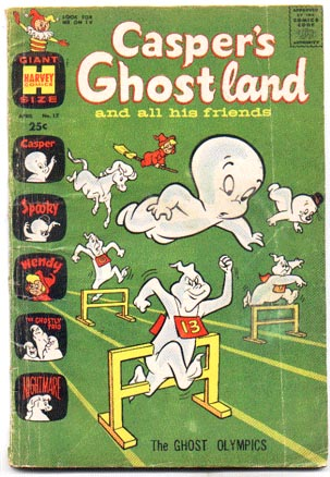 Casper's Ghostland #17 comic book vg 4.0
