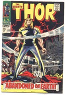 Thor #145 comic book vg+ 4.5