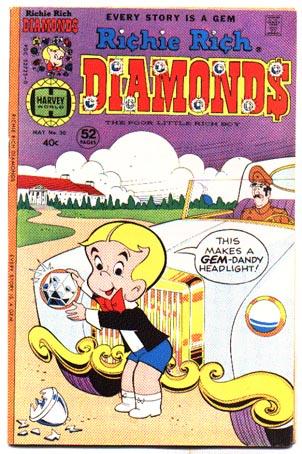 Richie Rich Diamonds #30 comic book vf 8.0