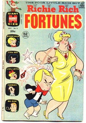 Richie Rich Fortunes #5 comic book vf 8.0