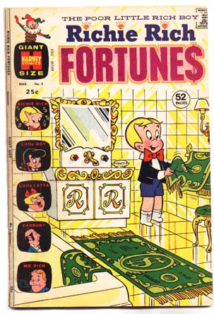 Richie Rich Fortunes #3 comic book fn 6.0