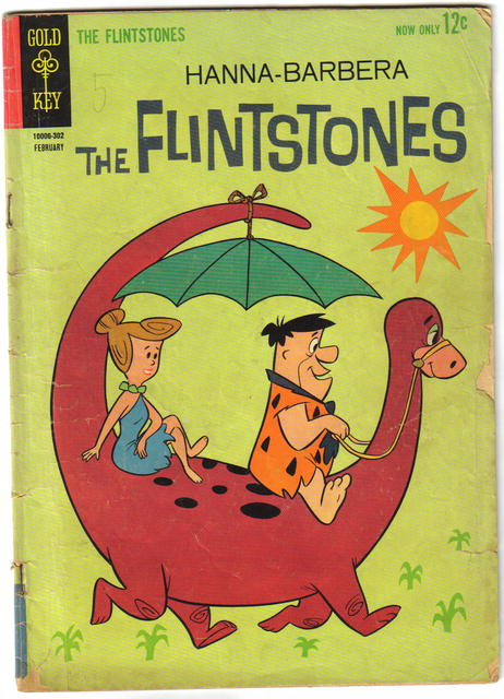 Flintstones #9 comic book g/vg 3.0