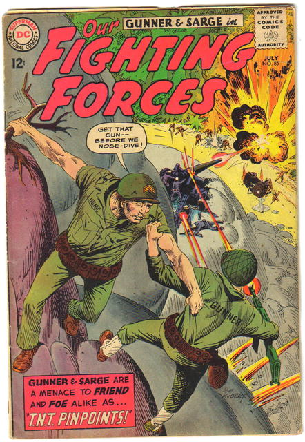 Our Fighting Forces #85 comic book vg 4.0