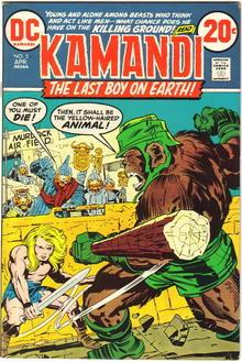Kamandi #5 comic book fn/vf 7.0