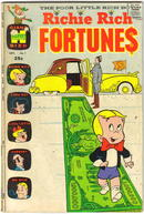 Richie Rich Fortunes #1 comic book vg/fn 5.0