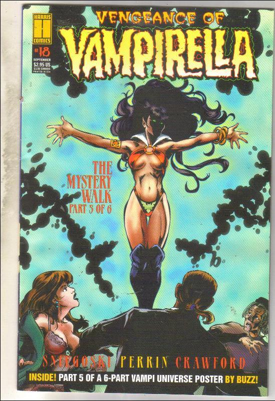 Vengeance of Vampirella #18 comic book