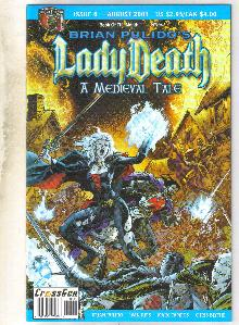 Lady Death A Medieval Tale #6 comic book mint 9.8