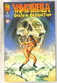 Vampirella Death and Destruction #3 comic book very fine/near mint 9.0