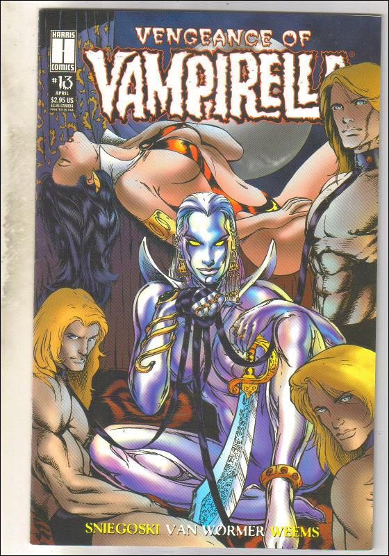 Vengeance of Vmpirella #13 comic book near mint 9.4